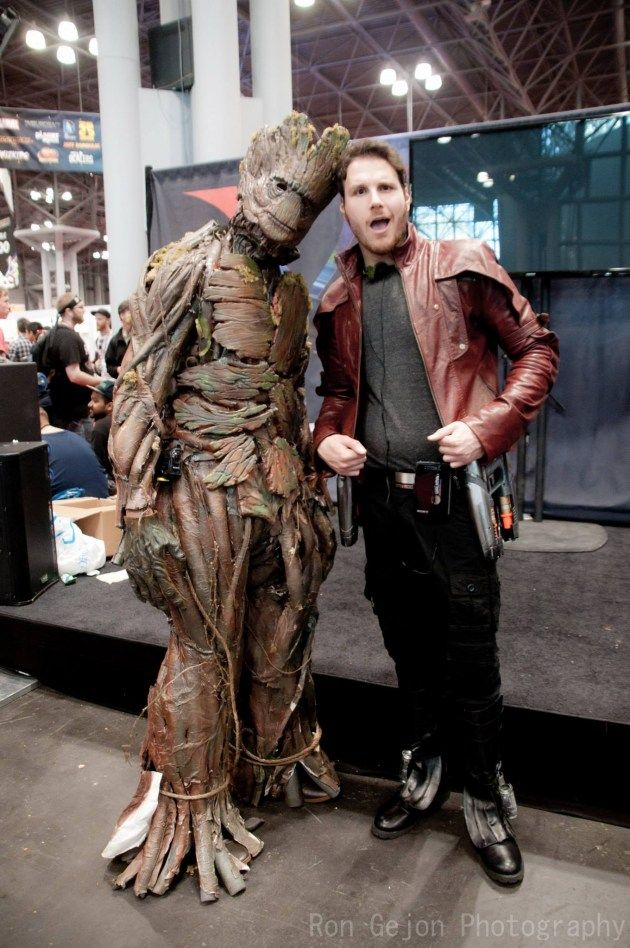 Groot and Star Lord Photographed by Ron Gejon Photography