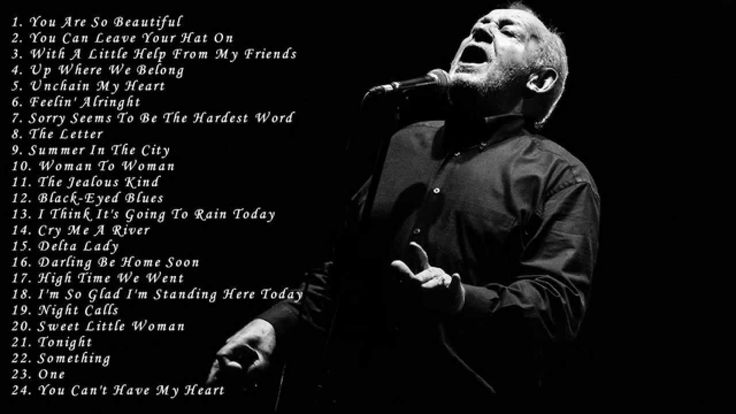 Joe Cocker: Best Songs Of Joe Cocker - Greatest Hits Full Album Of Joe C...