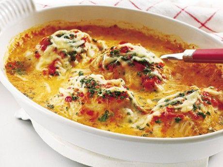 Fiskgratäng (torsk) med paprika - Recept - Huvudrätter - varmrätter Gratäng Fredagsmat | Allt om Mat
