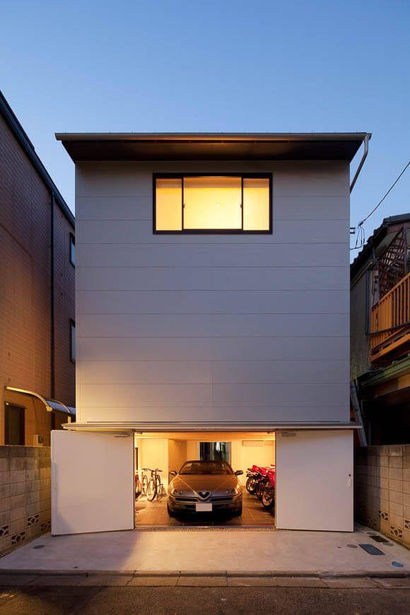ガレージハウス 10坪の都市型ガレージハウス アーキッシュギャラリー