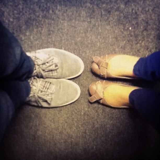 Twitter/ @zoozel winner of the Realtime Shoe Contest