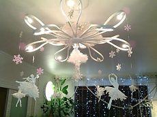 Снежинки-балеринки своими руками
