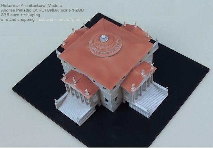 Andrea Palladio LA ROTONDA (Villa Almerico Capra ) - scala 1:200