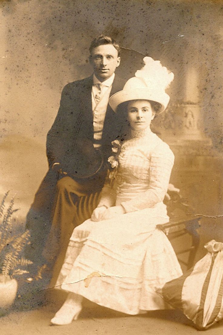 Grandparents, born in England, but married in Canada.