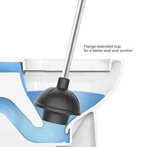 Mr Siga 2 Wege Gummi Pumpel Saugglocke Abflussreiniger Stampfer Rohrreiniger Fur Bad Dusche Undtoilette Aluminium Griff Schwar In 2020 Abflussreiniger Pumpel Dusche