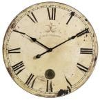 Home Decorators Collection 23 in. Oversized Yellow and Cream Wall Clock 8538600000 at The Home Depot - Mobile