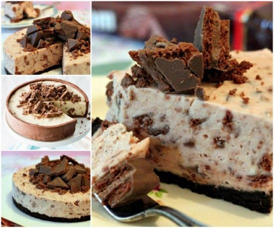 No Bake Tim Tam Cake