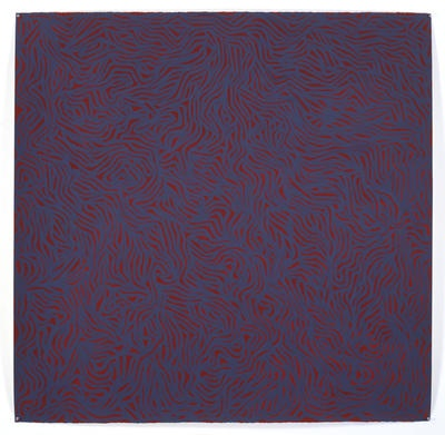 Sol LeWitt 'Irregular Grid'