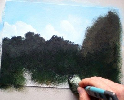 Painting Lesson For Beginner Artists Landscape With