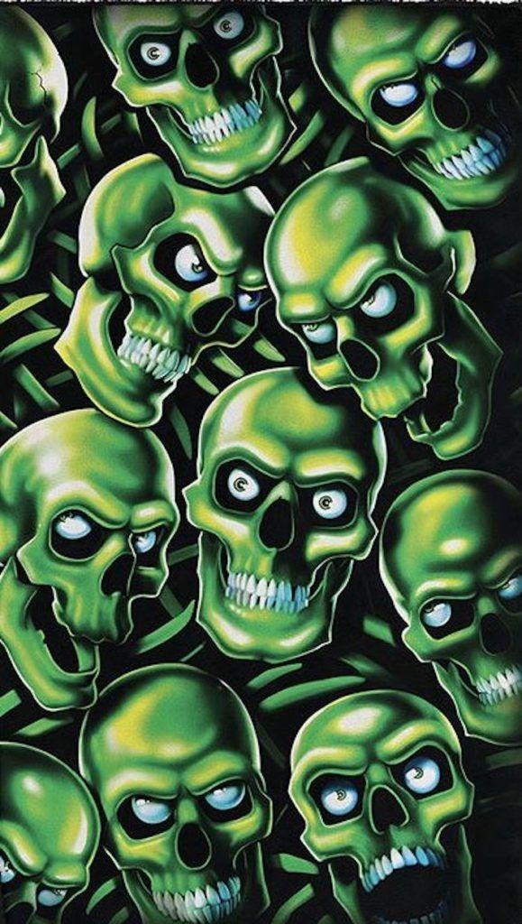 Skull Pie Supreme Wallpaper Skull Wallpaper Cool Backgrounds Blue Skulls