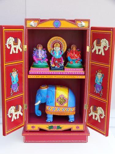 li'l Ganesh shrine