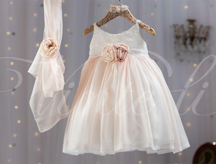 Βαπτιστικό φόρεμα Vinte li - Κωδικός 2522