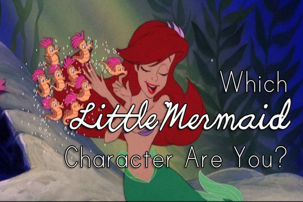 Which Little Mermaid Character Are You  Geeky  Little