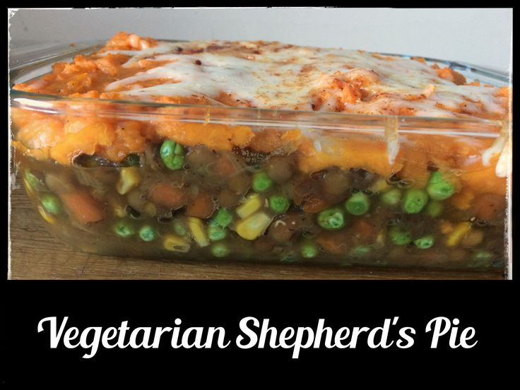 Vegetarian Shepherd's Pie - it's even better than the traditional version!