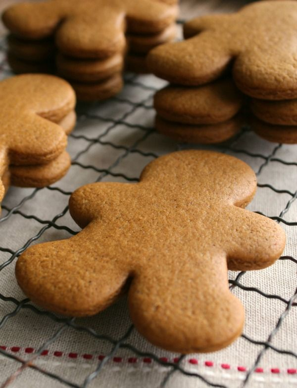 Gingerbread Cookies- Just make sure to chuck 'em in the fridge for 4-6 mins before you bake 'em so they retain their shape.