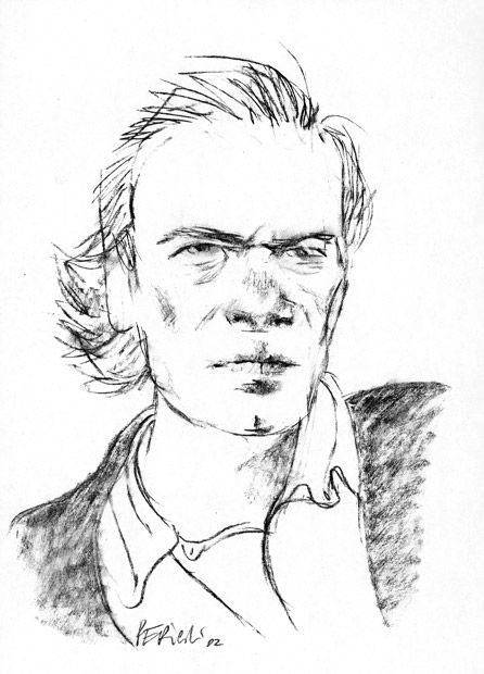 Tullio Pericoli Martin Amis 2002