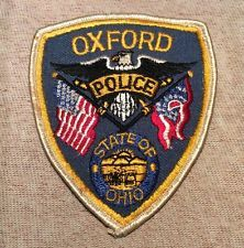 Oxford Ohio Police Patch