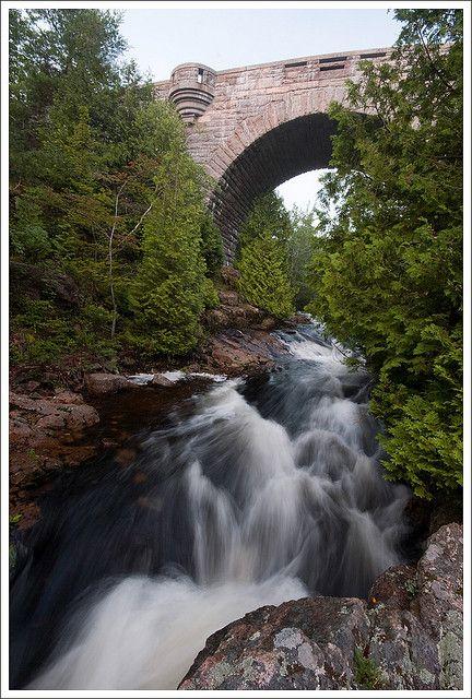 Duck Brook Bridge - Acadia National Park