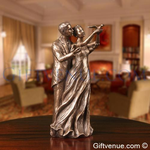Genesis fine arts bronze To Have & To Hold. Wedding gift idea's