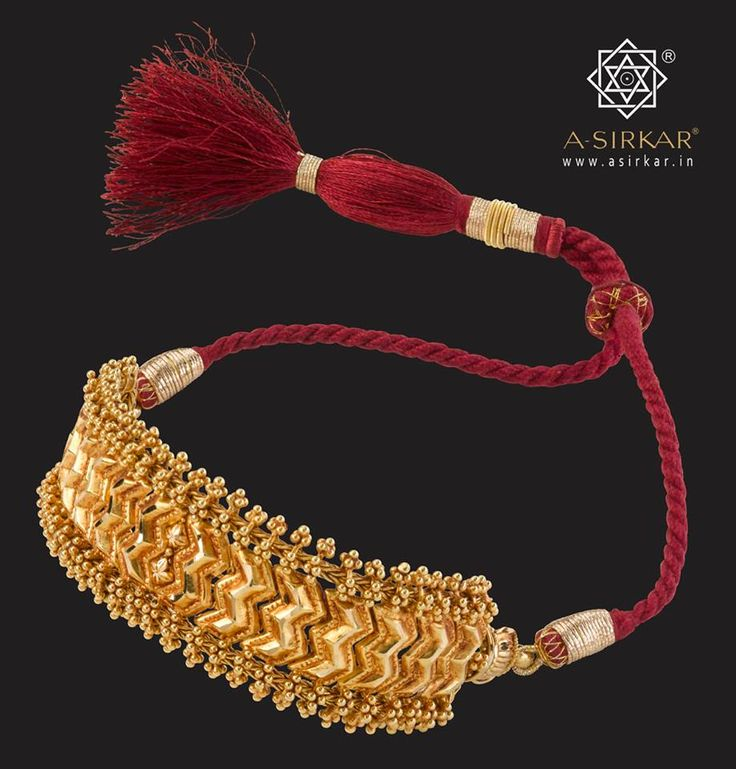 A choker which could double up as a baju bandh