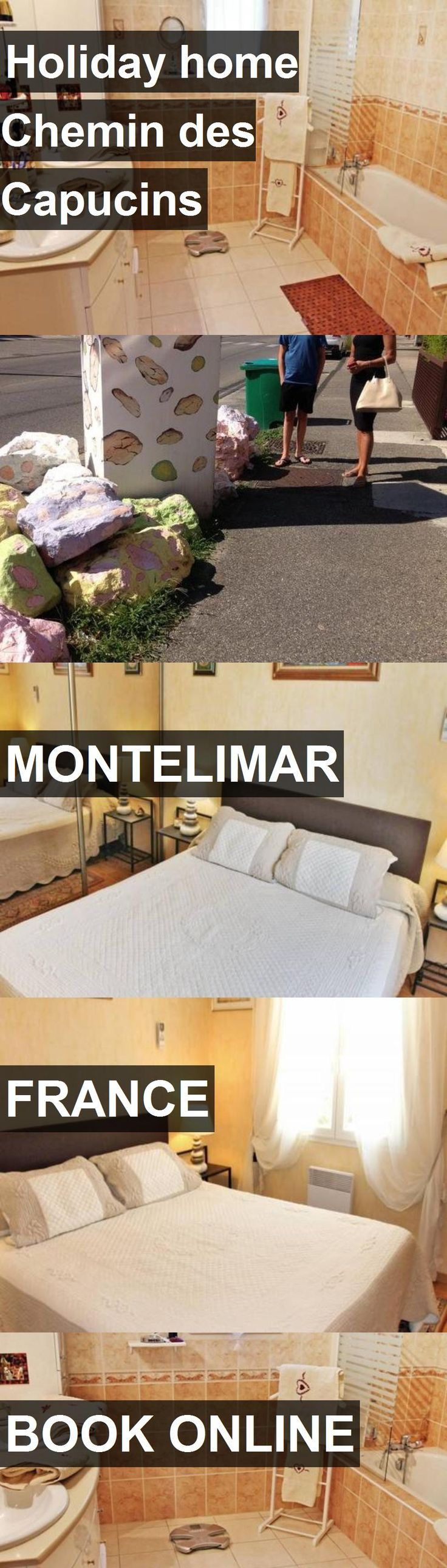 Hotel Holiday home Chemin des Capucins in Montelimar, France. For more information, photos, reviews and best prices please follow the link. #France #Montelimar #travel #vacation #hotel