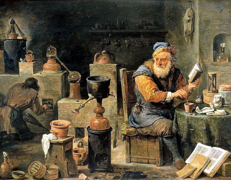 Medieval Alchemist Science Medicine Alchemy Scientist Early Chemistry