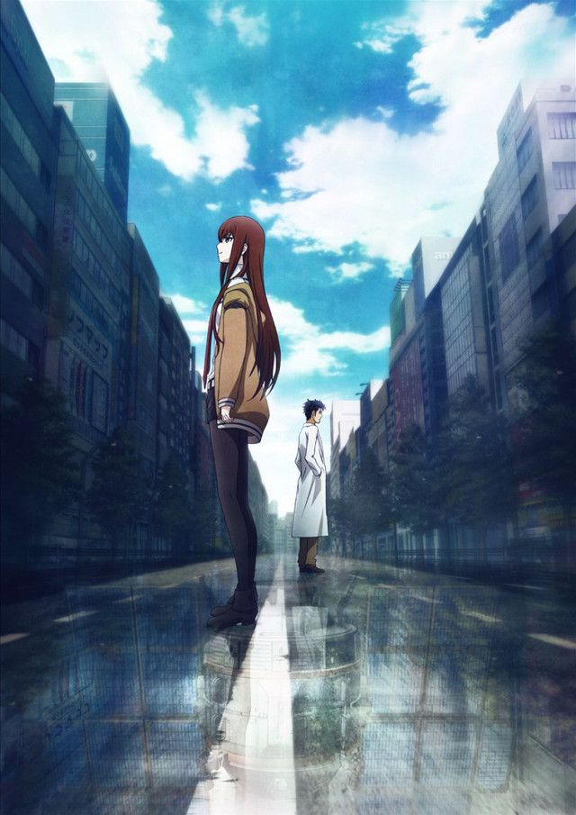 Promo art for Steins;Gate Fuka Ryoiki no Deja Vu #anime