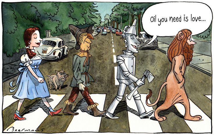 Abbey Road v Wizard of Oz.