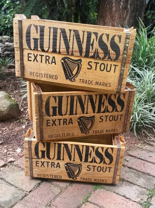 Image result for guinness crate