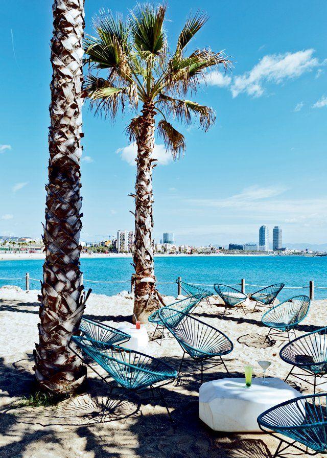 "L'hôtel W, Salt Beach Club bar de plage ""chiringuito"""