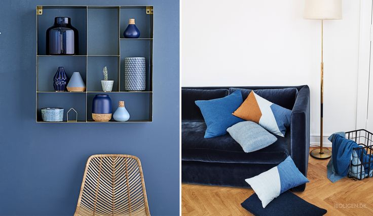 Indret hjemmet med årets trendy aqua-farver