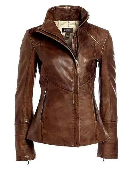 Brown Leater jacket