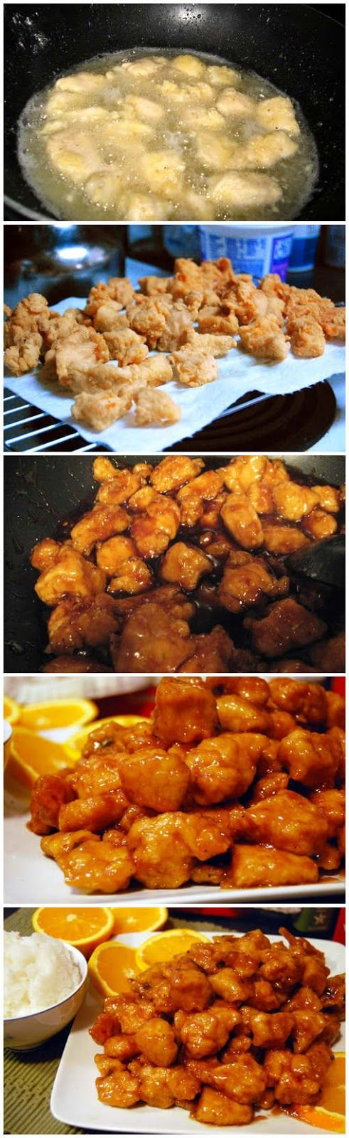 Panda Express Orange Chicken Recipe I tried this last night. Don't know if it was just like Panda's and I really don't care.    Ingredients ...