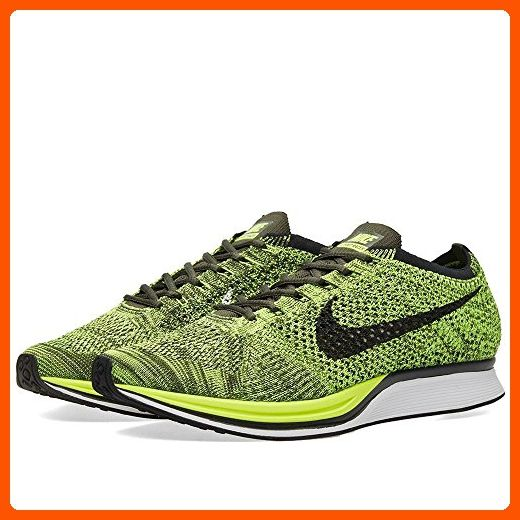 Nike Flyknit Racer Mens Sneaker (11 D(M) US, Volt/Black-Sequoia) - Mens world (*Amazon Partner-Link)