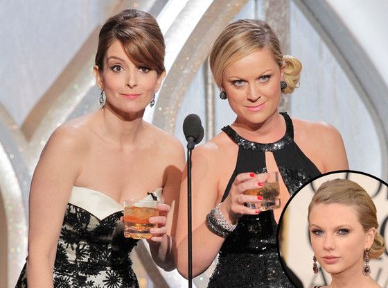 / Hey, Tina Fey and Amy Poehler! Taylor Swift Is Returning to the Golden Globes and You're (Probably) Still Going to Hell