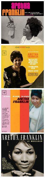 The iconic Aretha Franklin - #music #inspiration via the @ModCloth Blog.