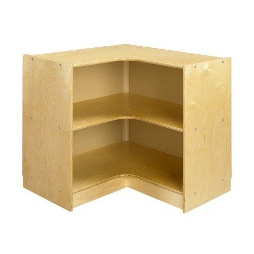 A Wood Designs Cubbie ''L'' Shaped Corner Mobile Storage Unit in Natural: Furniture : Walmart.com