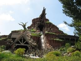 mountain disneyland exterior California,