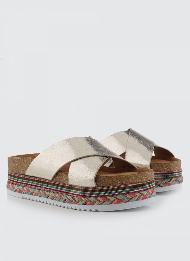FLATFORM ΣΑΝΔΑΛΙΑ TF/8 - The Fashion Project - Γυναικεία παπούτσια, ρούχα, αξεσουάρ