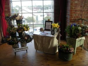 Look out for this charming stall at the Substation in Newport tomorrow. Who doesn't love fresh flowers?