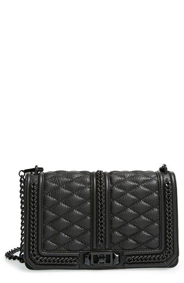 Rebecca Minkoff 'Love' Crossbody Bag in Chains available at #Nordstrom   Supernatural Style