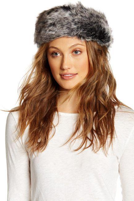 Image of Surell Faux Fur Headband/Collar