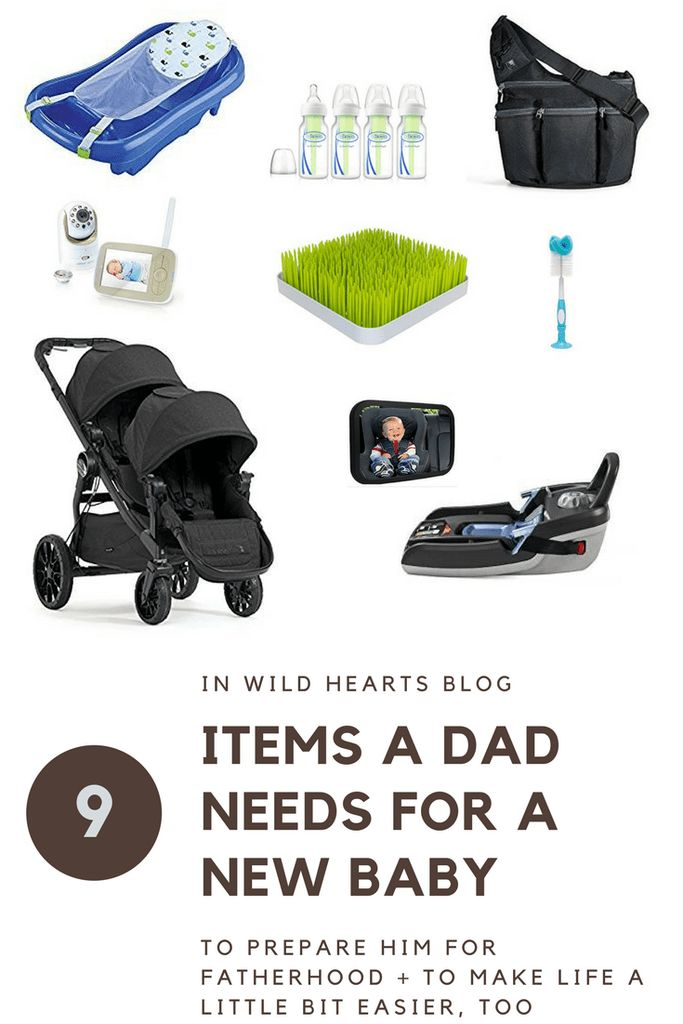 how to prepare for a baby for dads