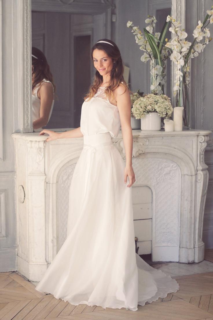 64 best Robes de maries images on Pinterest | Hochzeitskleider ...