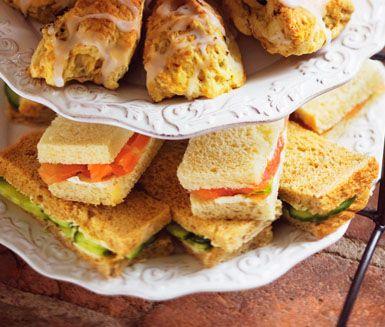 Recept: Skurna smörgåsar