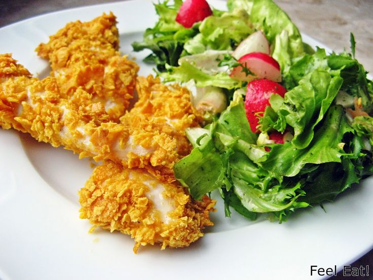 Feel Eat!: Domowy fast food, czyli pieczone nuggetsy w pełnoziarnistej…