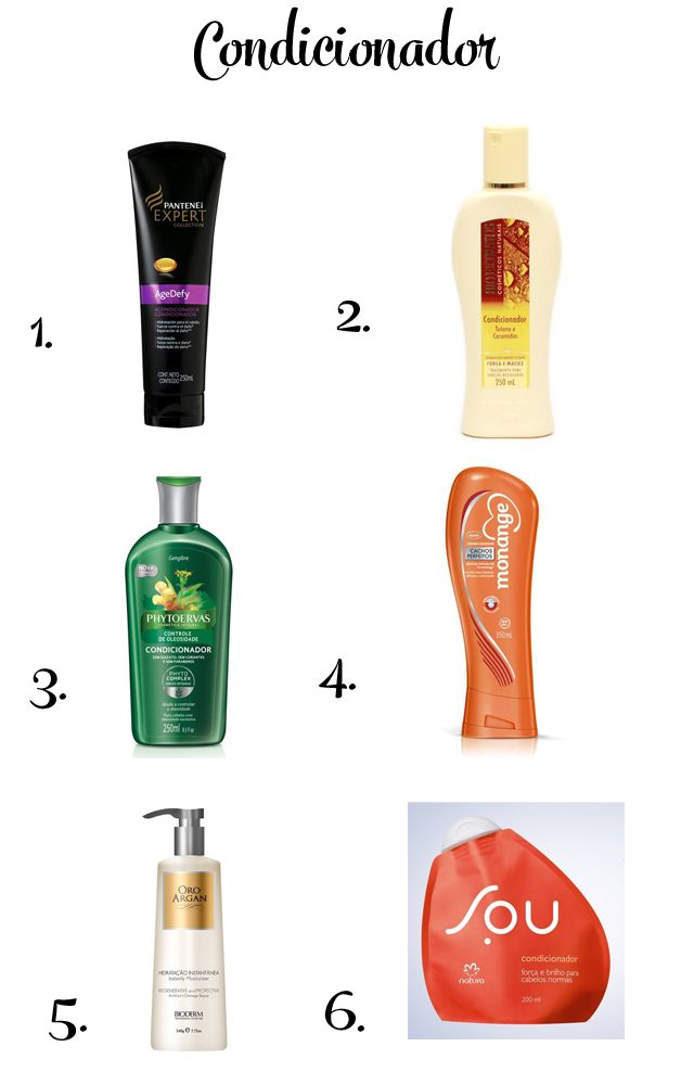 Hair: Produtos liberados para Low/No Poo