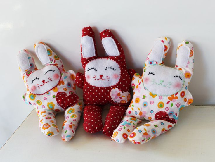 66 best diy gift ideas images on pinterest diy birthday gift making easter bunnies sewing tutorial negle Image collections