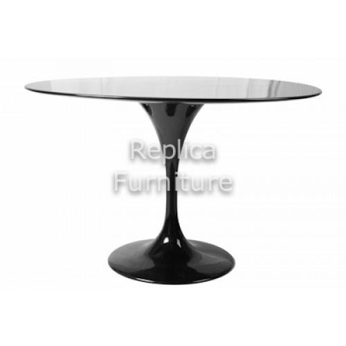 Tulip Table - Replica Eero Saarinen Tulip Table 120cm Black