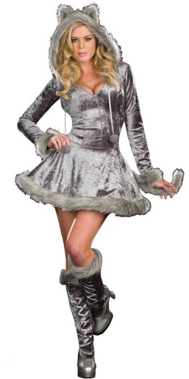 big bad wolf costume i bought this last night and codys making me cut the - Wolf Costume Halloween